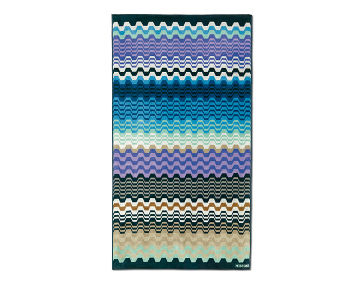 missoni home drap de plage lara bleu. Black Bedroom Furniture Sets. Home Design Ideas