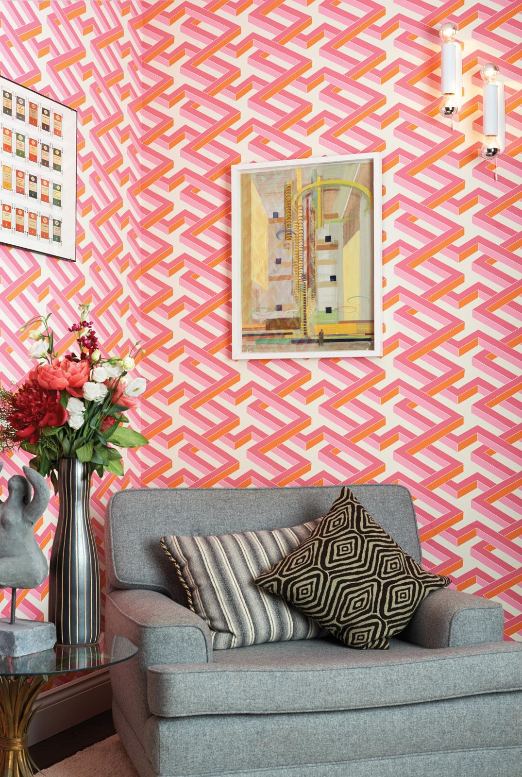 les papiers peint cole son g ometric ii. Black Bedroom Furniture Sets. Home Design Ideas