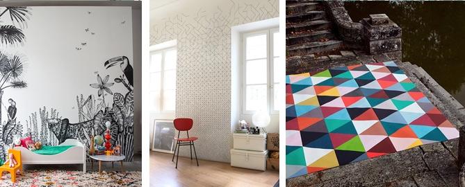 actualit s papiers peint archives. Black Bedroom Furniture Sets. Home Design Ideas