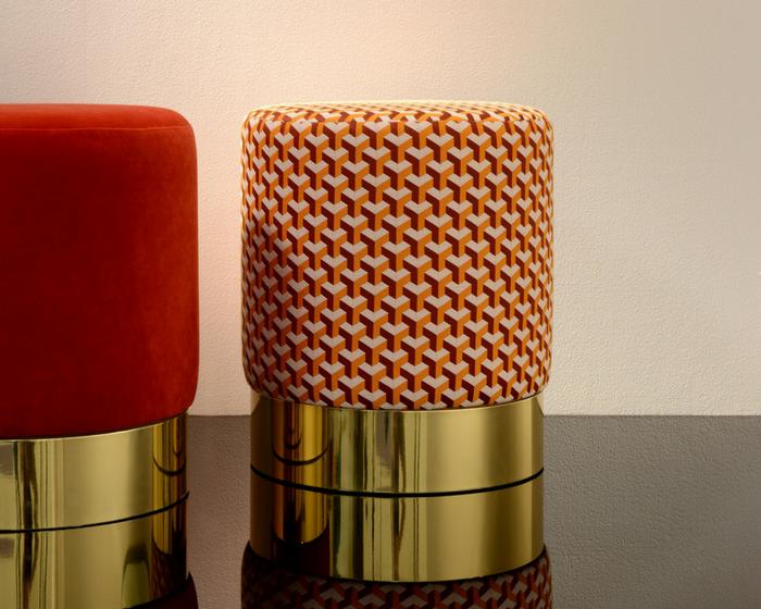 tissu leli vre ceramic vendu metre lineaire. Black Bedroom Furniture Sets. Home Design Ideas